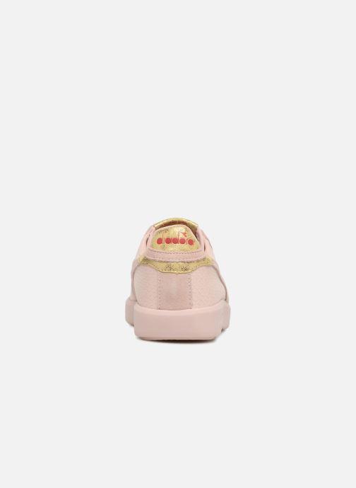 Sneakers Diadora GAME WIDE XMAS Roze rechts