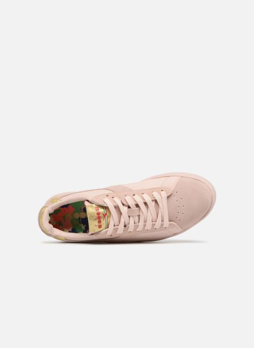 Sneakers Diadora GAME WIDE XMAS Rosa immagine sinistra