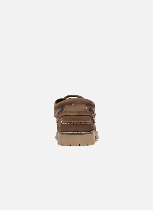 Zapatos con cordones Roadsign ULTIME Marrón vista lateral derecha
