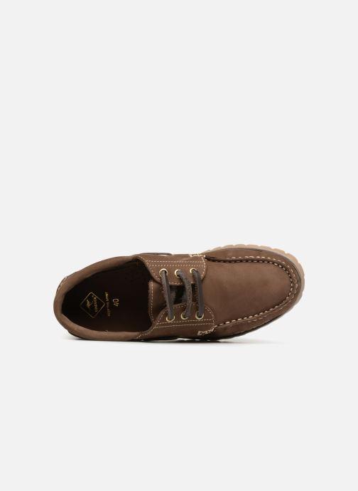 Zapatos con cordones Roadsign ULTIME Marrón vista lateral izquierda
