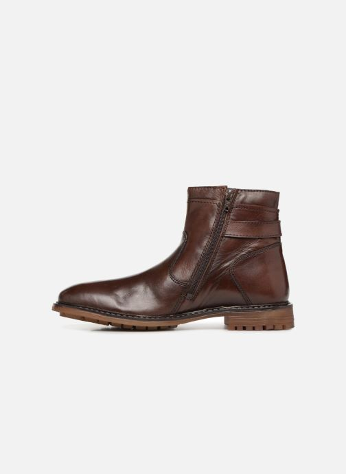 Ankle boots Roadsign INDOU Brown front view