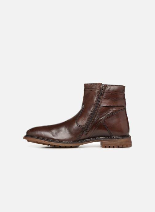 Bottines et boots Roadsign INDOU Marron vue face