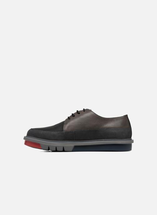 Chaussures à lacets Camper Mateo Marron vue face