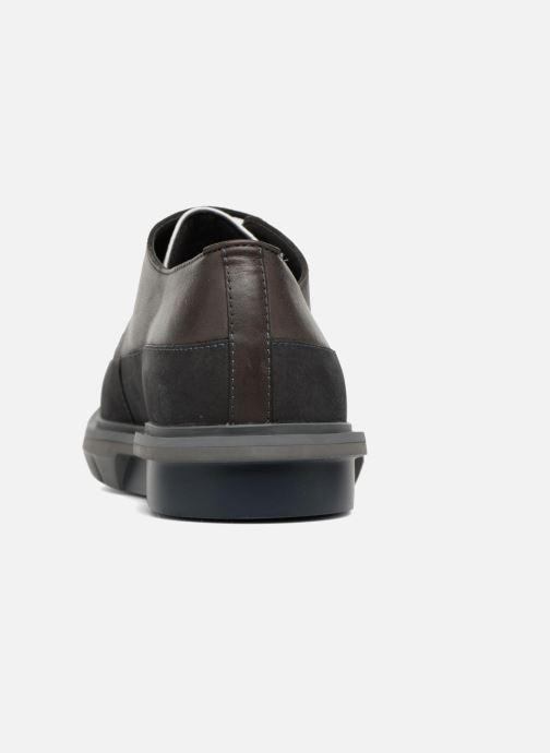 Chaussures à lacets Camper Mateo Marron vue droite