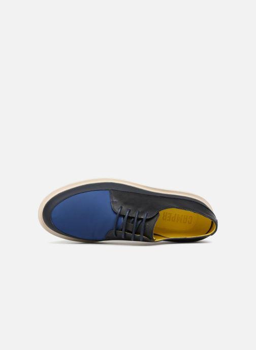Chaussures à lacets Camper Mateo Bleu vue gauche