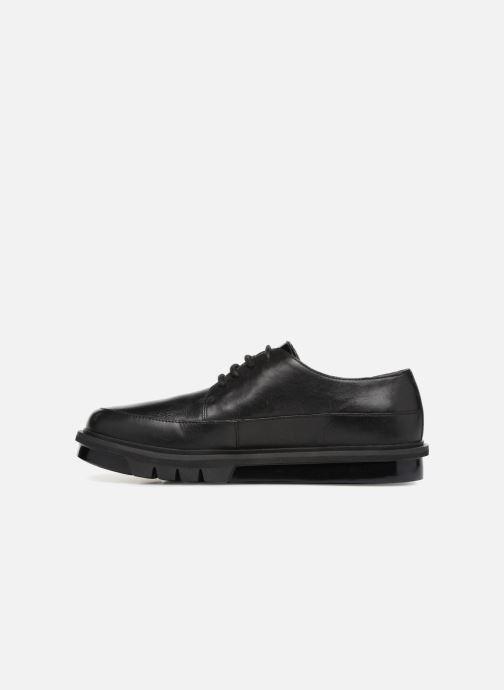 Chaussures à lacets Camper Mateo Gris vue face