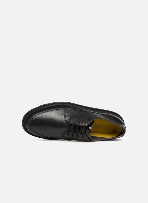 Chaussures à lacets Camper Mateo Gris vue gauche