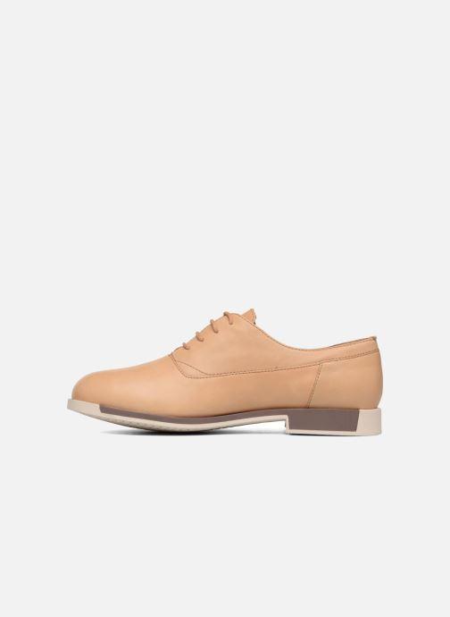 Chaussures à lacets Camper Bowie Beige vue face