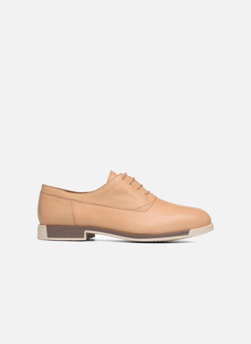 Chaussures à lacets Camper Bowie Beige vue derrière