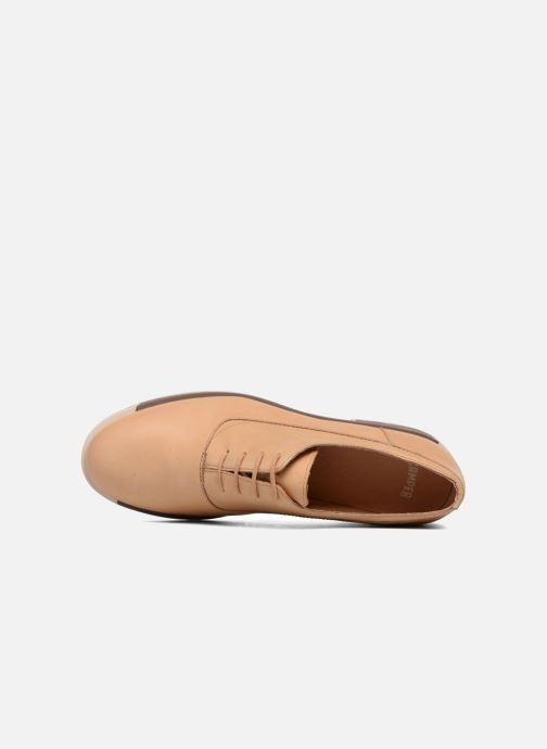 Chaussures à lacets Camper Bowie Beige vue gauche