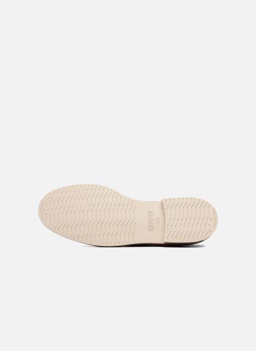 Chaussures à lacets Camper Bowie Beige vue haut