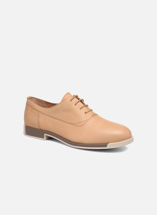 Zapatos con cordones Camper Bowie Beige vista de detalle / par