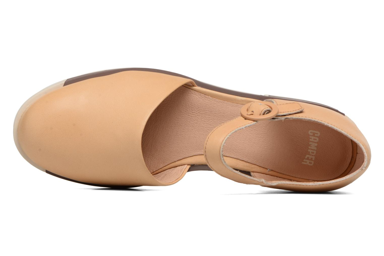 Ballet pumps Camper Bowie babies Beige view from the left