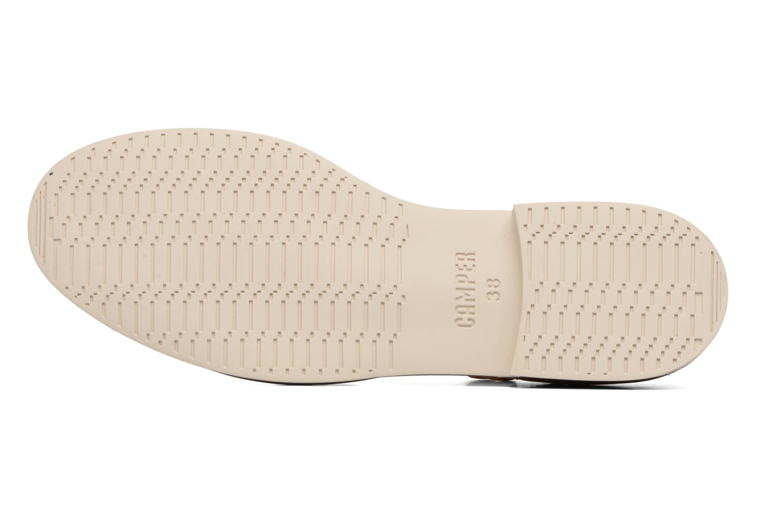 Ballet pumps Camper Bowie babies Beige view from above