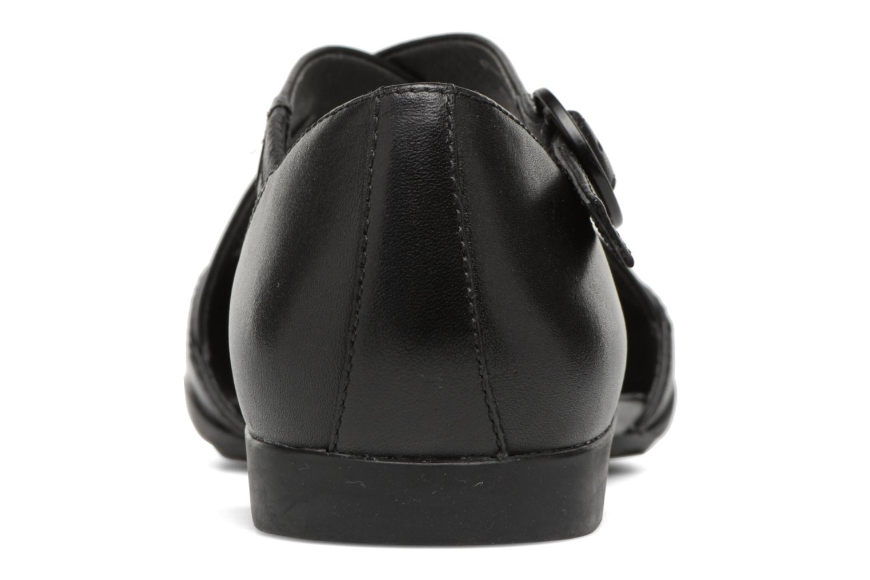 Ballerines Camper Casi Tiptap Noir vue droite