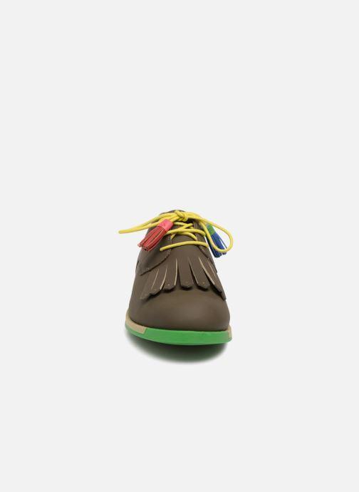 Chaussures à lacets Camper TWS K200401 Marron vue portées chaussures