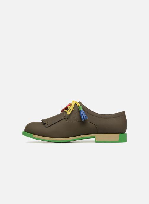 Chaussures à lacets Camper TWS K200401 Marron vue face