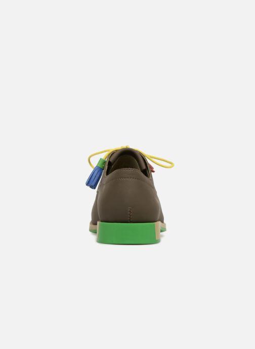 Chaussures à lacets Camper TWS K200401 Marron vue droite