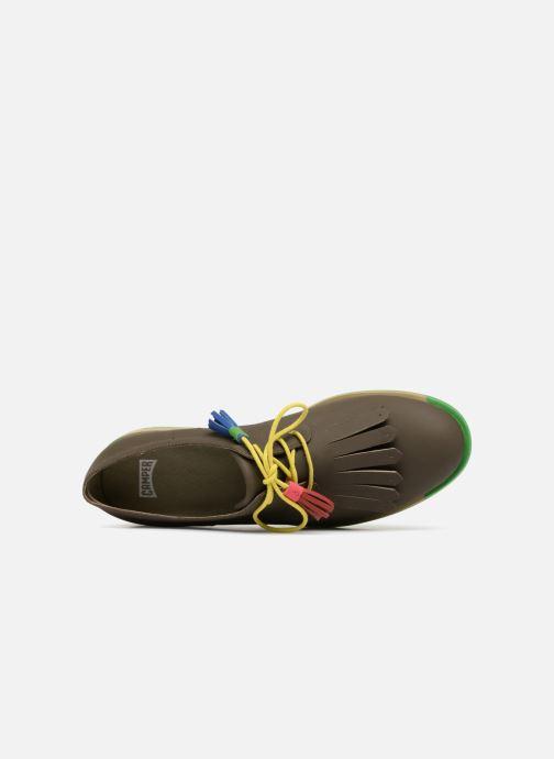 Chaussures à lacets Camper TWS K200401 Marron vue gauche