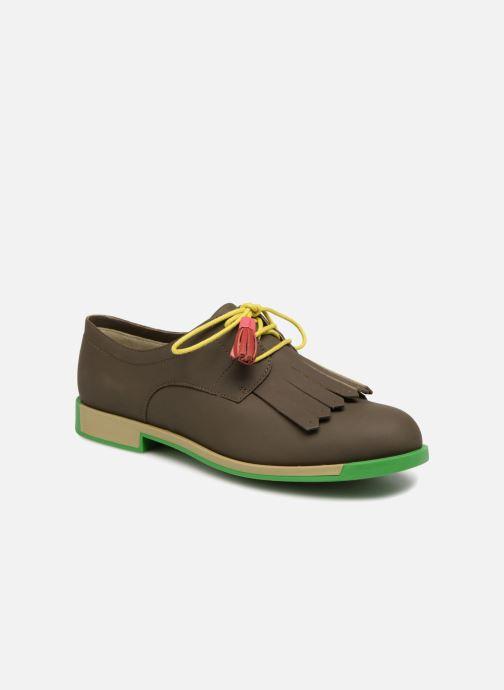 Chaussures à lacets Camper TWS K200401 Marron vue détail/paire