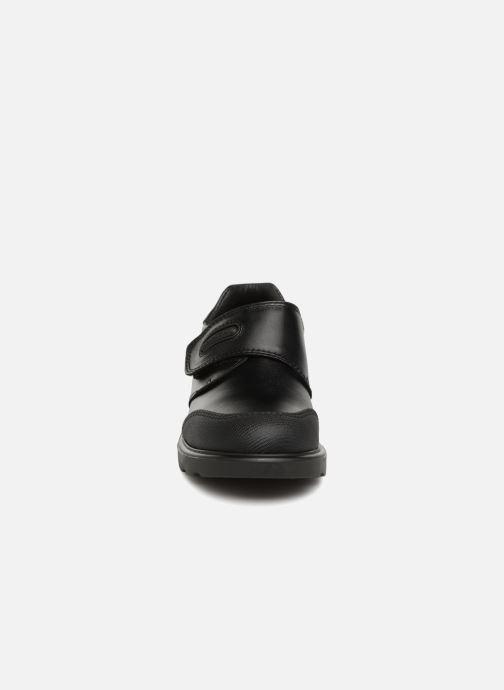 Chaussures à scratch Pablosky Mariano Noir vue portées chaussures