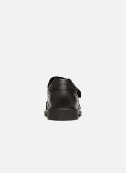 Chaussures à scratch Pablosky Mariano Noir vue droite