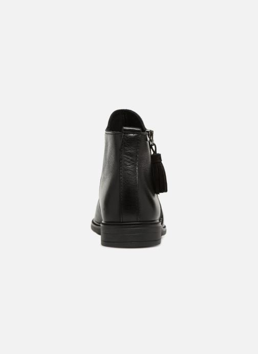 Ankle boots Pablosky Valeria Black view from the right