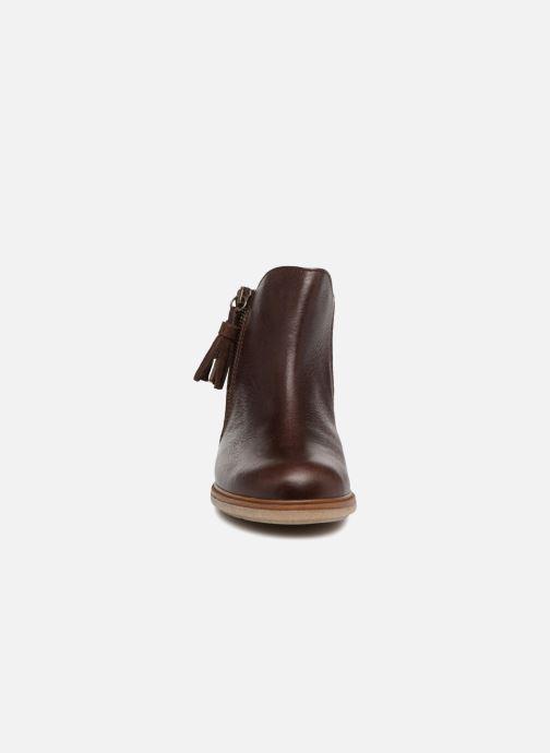 Bottines et boots Pablosky Valeria Marron vue portées chaussures
