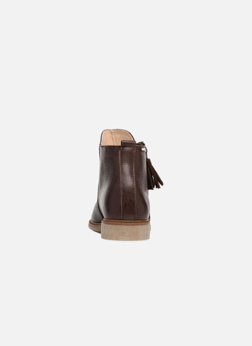 Bottines et boots Pablosky Valeria Marron vue droite