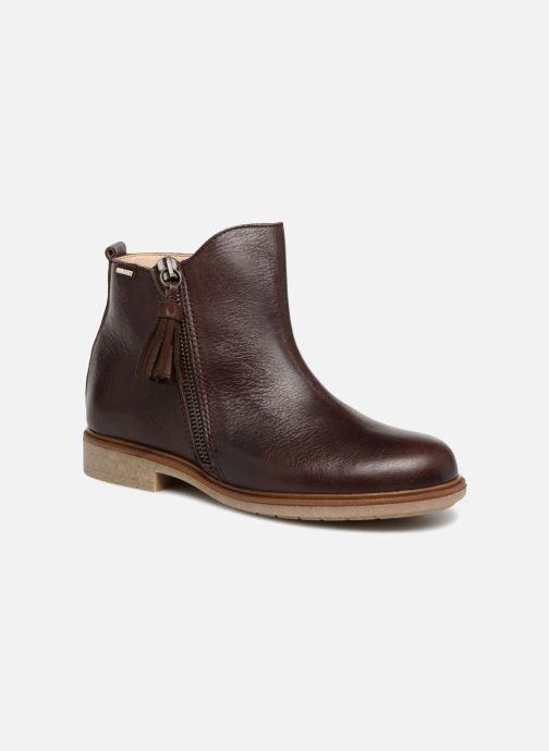 Bottines et boots Pablosky Valeria Marron vue détail/paire