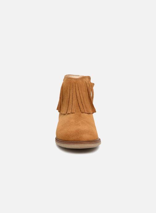Bottines et boots Pablosky Aida Marron vue portées chaussures