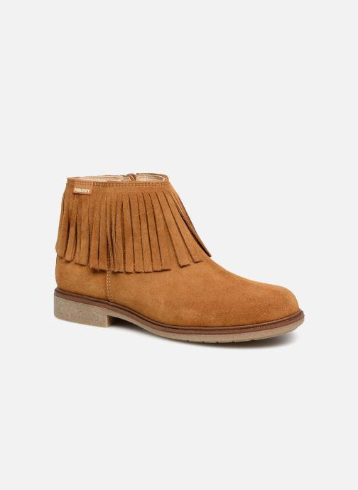 Bottines et boots Pablosky Aida Marron vue détail/paire