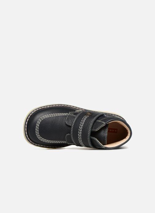Bottines et boots Pablosky Elio Bleu vue gauche