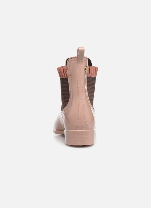 Ankle boots Lemon Jelly Devon Pink view from the right