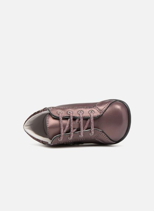 Ankle boots Bopy Zolly Pink view from the left