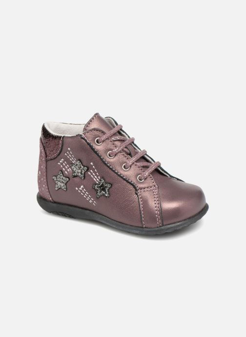 Ankle boots Bopy Zolly Pink detailed view/ Pair view