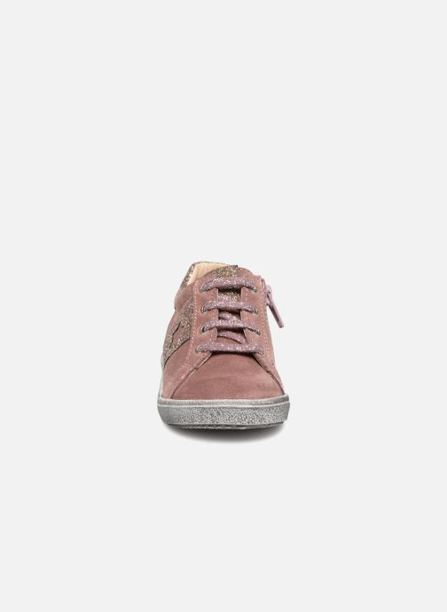 Baskets Bopy Bijama Rose vue portées chaussures