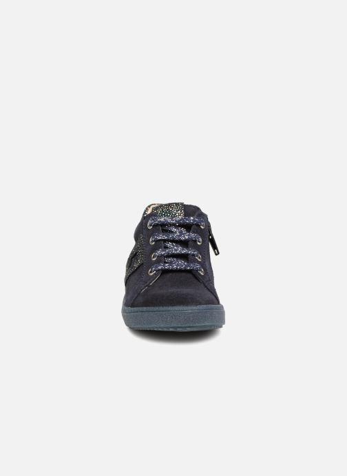 Baskets Bopy Bijama Bleu vue portées chaussures