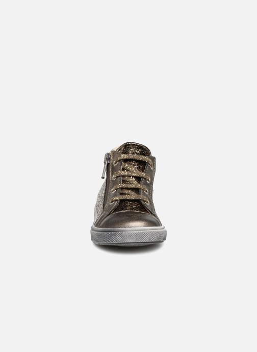 Baskets Bopy Blondine Or et bronze vue portées chaussures
