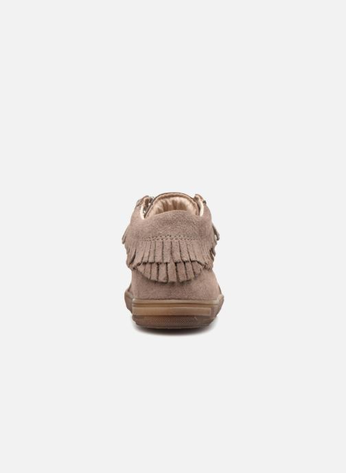 Ankle boots Bopy Rosy Beige view from the right