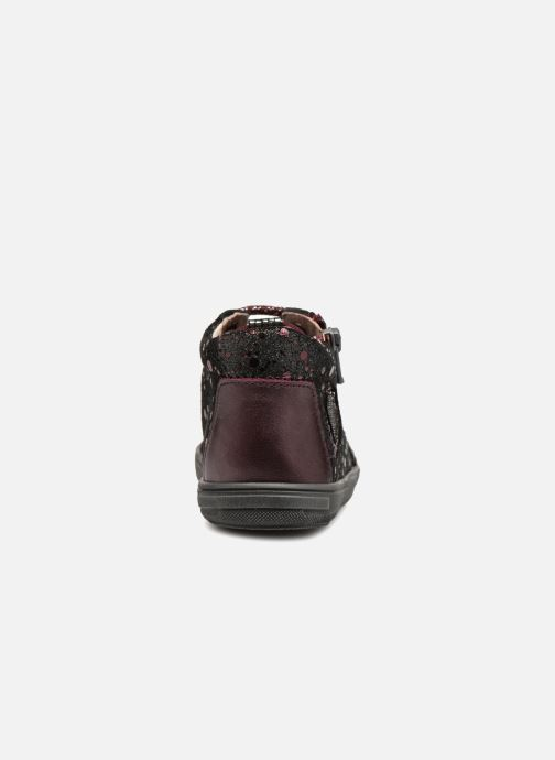 Ankle boots Bopy Regina Burgundy view from the right