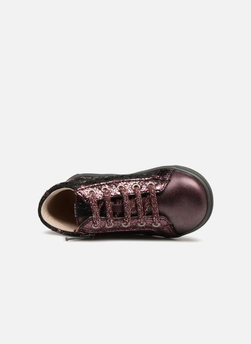 Bottines et boots Bopy Regina Bordeaux vue gauche