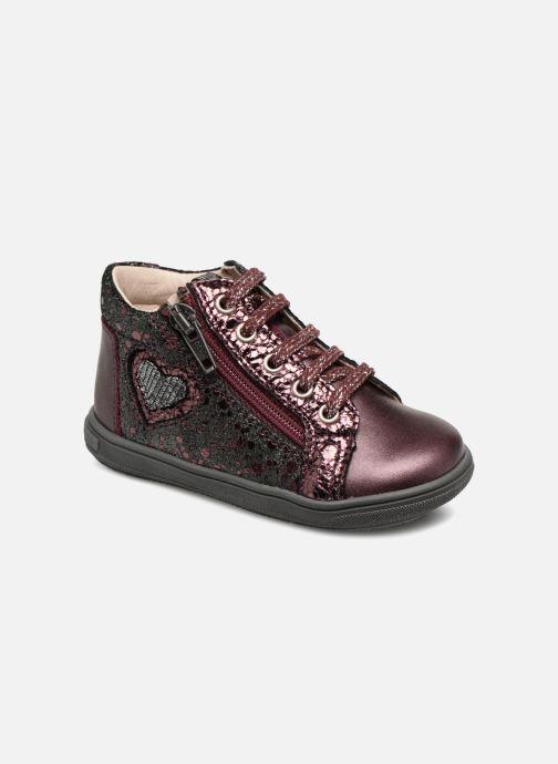 Bottines et boots Bopy Regina Bordeaux vue détail/paire