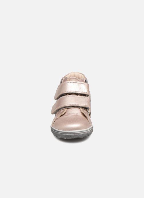 Baskets Bopy Rosivel Rose vue portées chaussures