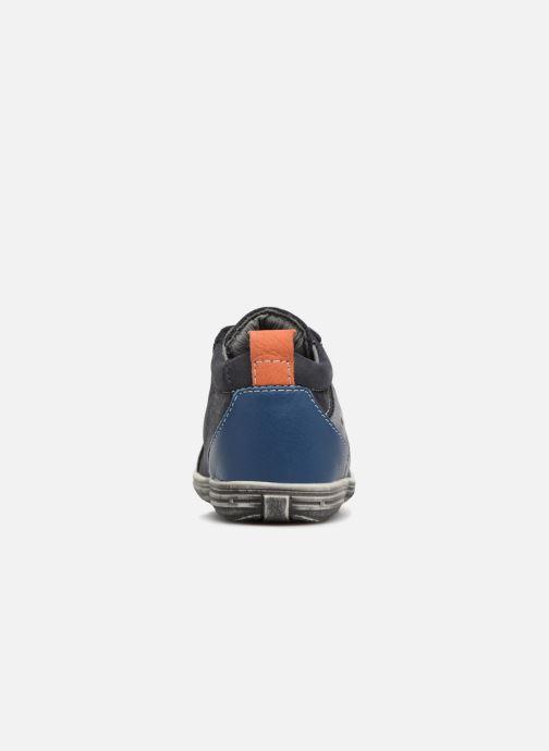 Bottines et boots Bopy Zoachin Bleu vue droite