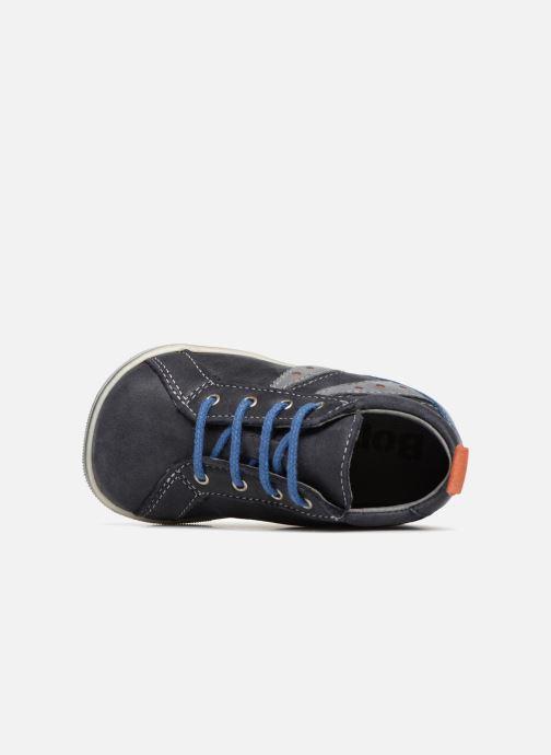 Bottines et boots Bopy Zoachin Bleu vue gauche