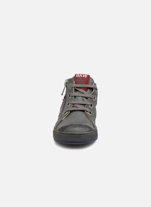 Bottines et boots Bopy Bilfrid Gris vue portées chaussures