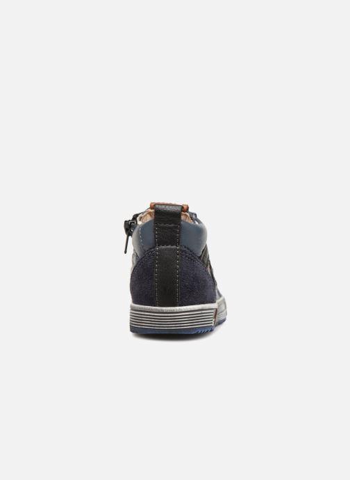 Bottines et boots Bopy Balter Bleu vue droite