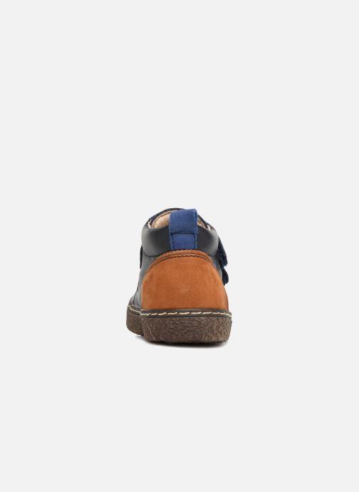 Bottines et boots Bopy Blaise Bleu vue droite
