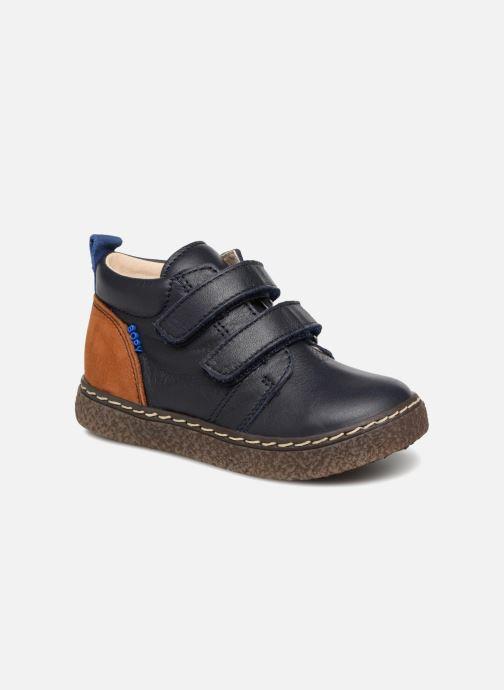 Bottines et boots Bopy Blaise Bleu vue détail/paire